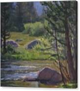 Morning View- Rock Creek Canvas Print