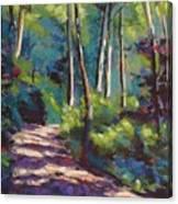 Morning Walk 3 Canvas Print