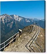 Moro Rock Sequoia National Park Canvas Print