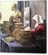 Moroccan Breadmaker Canvas Print