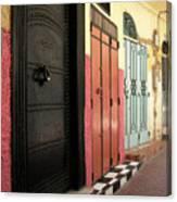 Moroccan Doors Canvas Print