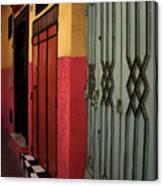 Moroccan Doors Ll Canvas Print