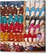 Moroccan Shoes 3 Canvas Print