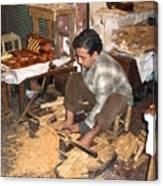Moroccan Woodturner Canvas Print