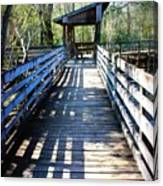 Morris Bridge Boardwalk Canvas Print