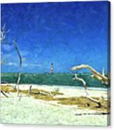 Morris Island Lighthouse 2 Canvas Print