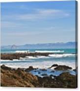 Morro Rock Canvas Print