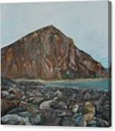 Morro Rock Canvas Print