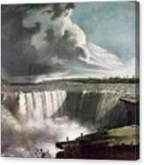 Morse: Niagara Falls, 1835 Canvas Print