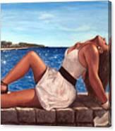 Morska Vila Canvas Print