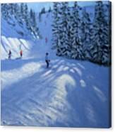 Morzine Ski Run Canvas Print