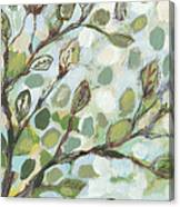Mo's Chickadees Canvas Print