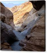 Mosaic Canyon Canvas Print
