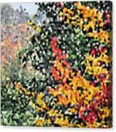 Mosaic Foliage Canvas Print