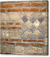 Mosaic From Pompeii Canvas Print