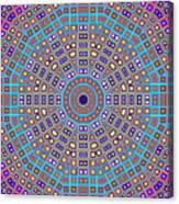 Mosaic Kaleidoscope  Canvas Print