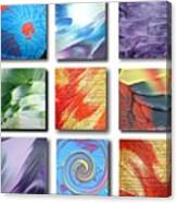 Mosaic Of Abstracts Canvas Print