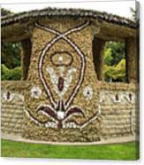 Mosaic Stone Bandstand In Anacortes Canvas Print