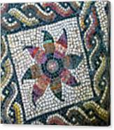 Mosaico Pavimentale Canvas Print