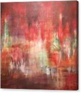 Abstract Moscow Canvas Print
