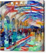 Moscow Metro Station Canvas Print