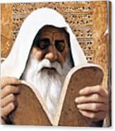 Moses - Lgmss Canvas Print