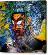Moses Rap-part II-work In Progress Canvas Print