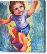 Moshe Canvas Print