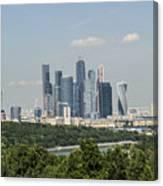 Moskow Skyline Canvas Print