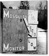 Mosquito Monitor Canvas Print