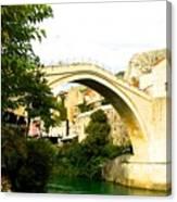 Mostar, Bosnia Canvas Print