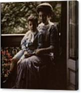 Mother And Child. Johannes Hendrikus Antonius Maria Lutz, 1907 - 1916 Canvas Print
