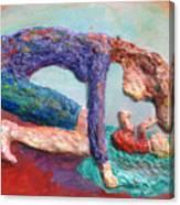 Mother Bonding IV Canvas Print