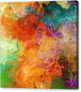 Mother Earth - Abstract Art Canvas Print
