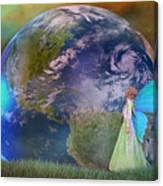 Mother Earth Series Plate3 Canvas Print