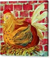 Mother Hen Canvas Print