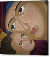 Mother-love Canvas Print