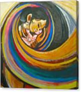 Mother Love,mothers Lap Canvas Print