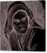 Mother Of Christ Canvas Print