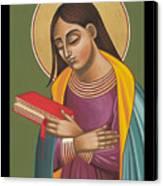Mother Of God After Fra Angelico 168 Canvas Print