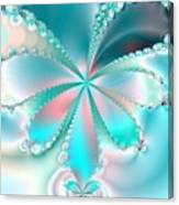 Mother Of Pearl Butterfly Canvas Print