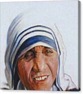 Mother Teresa Canvas Print