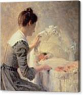 Motherhood Canvas Print