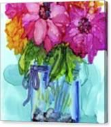 Mother's Bouquet Canvas Print