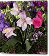 Mothers Day Bouquet Canvas Print