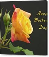 Mothers Day Card 4 Canvas Print