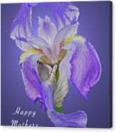 Mothers Day Card 7 Canvas Print