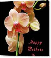 Mothers Day Card 8 Canvas Print