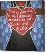 Mothers Of Black Lives Matter  Canvas Print