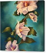 Mothers Rose Of Sharon Canvas Print